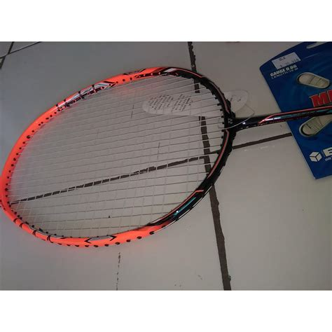 Raket Yonex Nanoray Z Speed Original raket badminton yonex nanoray z speed murah bonus tas