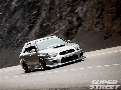subaru wagon 2005 subaru wrx wagon the transporter super street
