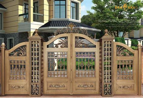 indian house main gate designs  aluminum gate model