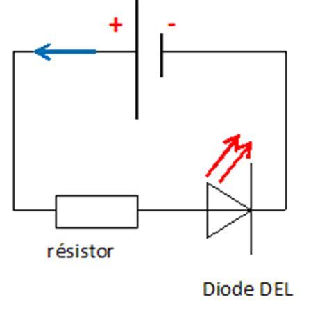 definition de diode électroluminescente circuits lectriques srie drivation diodes physique collge