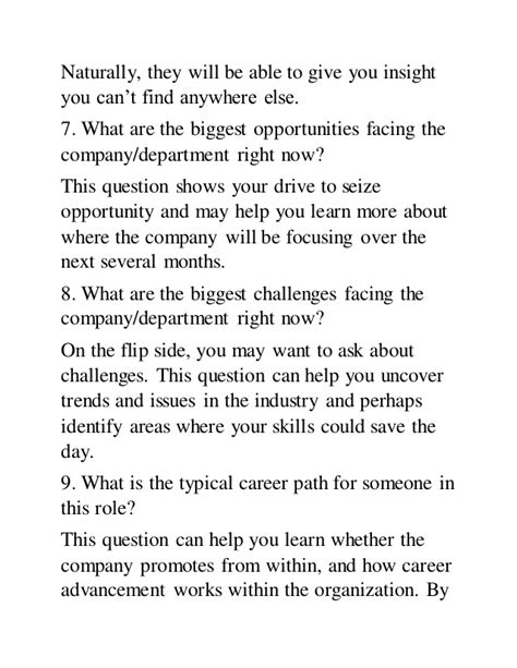 questions you should always ask at the beginning of a job