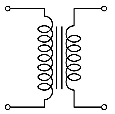 electronic symbol for inductor practical transformer 183 ee361 electromechanical energy conversion i