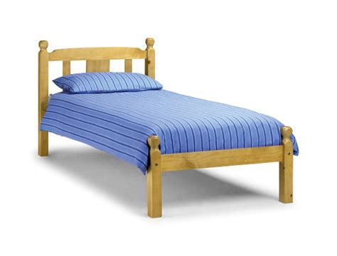 bed frame without box spring silentnight hayes pine wooden guest bed bed mattress sale