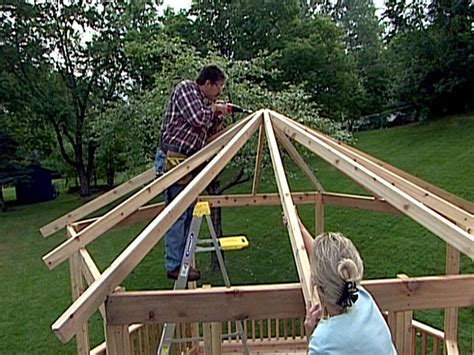 pavillon 2x4 how to build a gazebo from a kit how tos diy