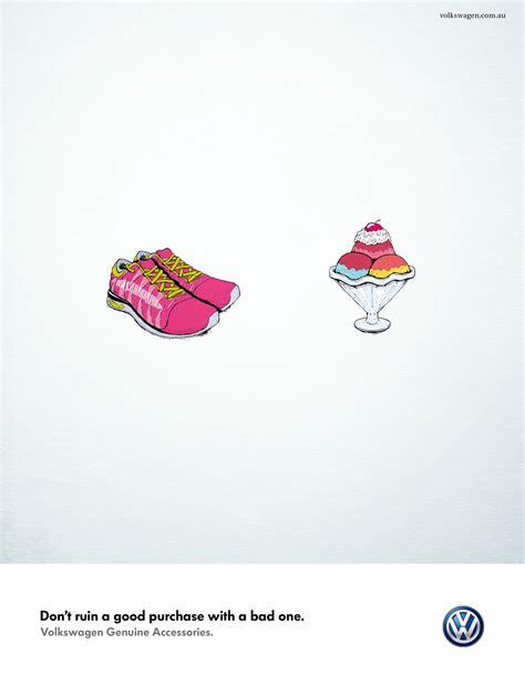 volkswagen ads 2014 print ad volkswagen accessories shoes