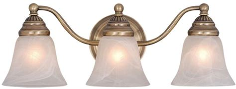 antique bathroom light fixtures vaxcel vl35123a standford antique brass 3 light bathroom