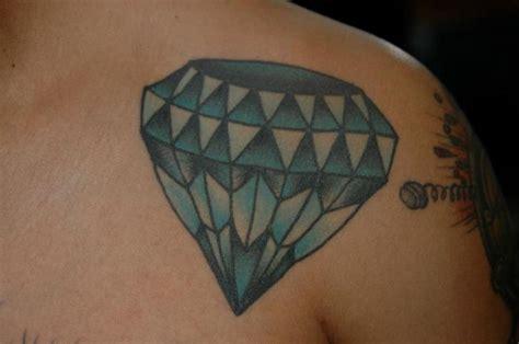 diamond tattoo on shoulder shoulder diamond tattoo by chad koeplinger