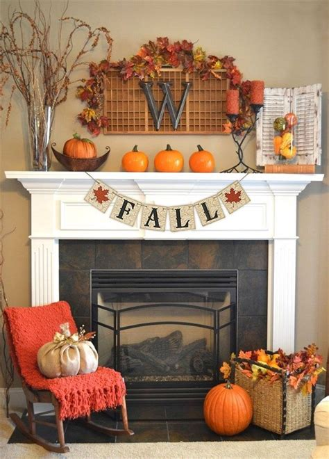 Fireplace Decorations Ideas 25 best fall fireplace decor ideas on pinterest