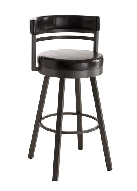 Bar Stools Washington Dc amisco stools ronny contemporary swivel bar stool
