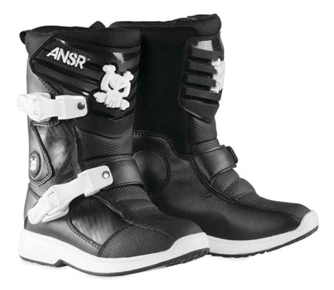 boys motocross boots answer wee boys motocross mx boots ebay