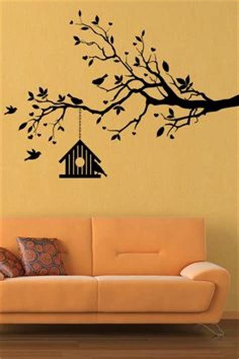 Wall Sticker Kode 042 3 flowers trees on