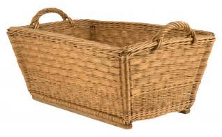 Types Of Leather Upholstery Vintage Wicker Basket Jayson Home