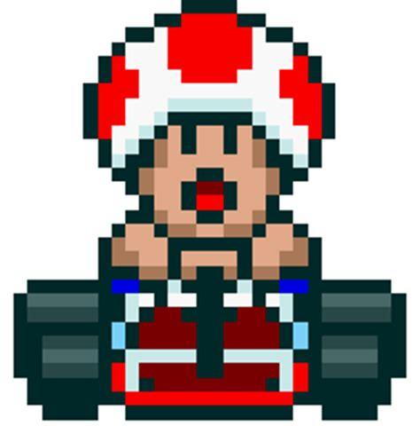 pixel art toad playing nintendo nes pixelated super super nintendo mario kart pixel art pinterest best