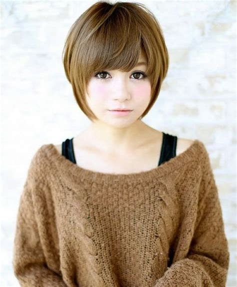 rounded hairstyles 17 best ideas about asian short hairstyles on pinterest