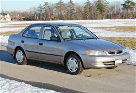 toyota corolla 1998 2002: fuel economy, common problems