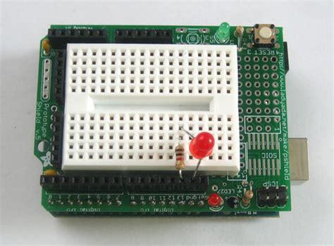 breadboard resistor wattage arduino tutorial lesson 3 breadboards and leds