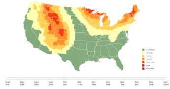fall foliage map embed smokymountains