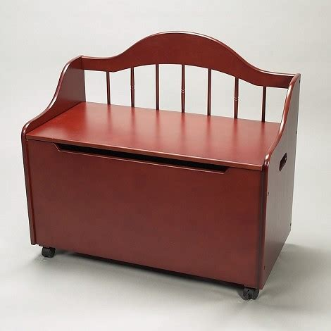 deacon bench with storage dreamfurniture com 4025c deacon bench styled toy chest