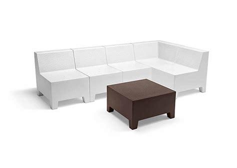 divanetto angolare divanetto in polietilene rotazionale angolare