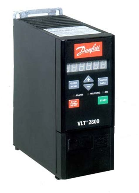 danfoss vlt 2805 0.55kw/3.2amps ip20 195n0013