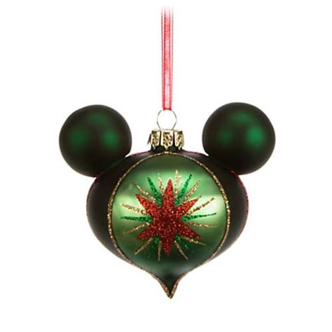 your wdw store disney christmas ornament set mickey