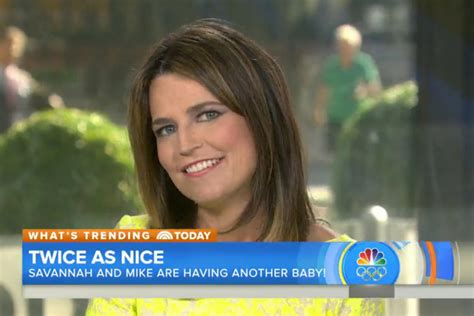 what is savannah guthries second child savannah guthrie pregnant today s news our take tv guide