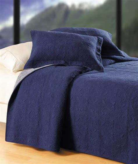 denim coverlet denim quilted matelesse quilt