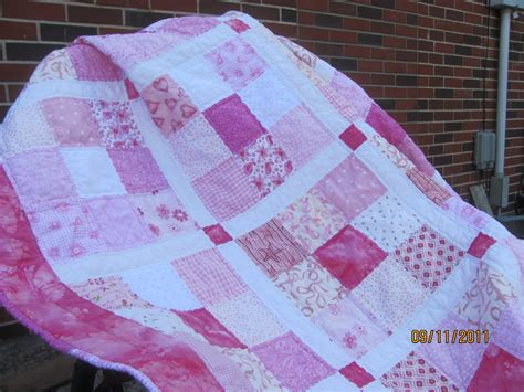Breast Cancer Quilt by Quilt Story Breast Cancer Awareness Quilt