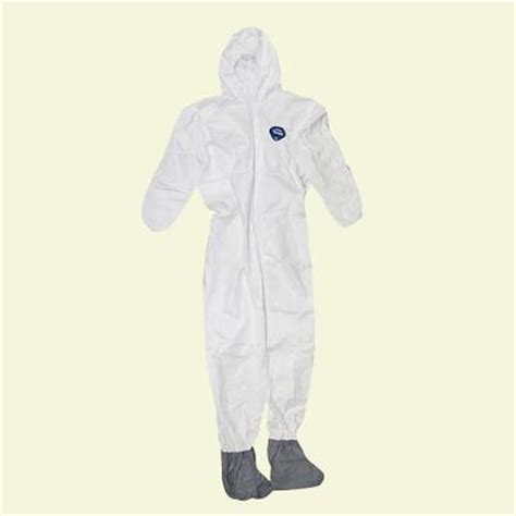 tyvek coverall with and boot 141242 12hd the
