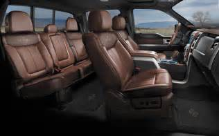 ford f 150 king ranch interior car interior design