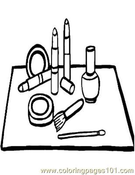 hair salon coloring pages