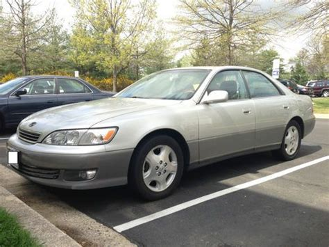 car owners manuals for sale 2000 lexus es security system purchase used 2000 lexus es300 runs perfect no issues platinum edition 203k miles bluetooth in