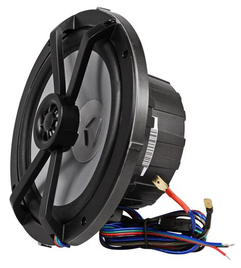 boat speakers led 2 pairs kicker 41km654lcw 6 5 quot 390w marine boat speakers