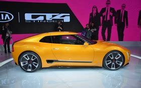 kia gt4 stinger concept headed to naias the car guide