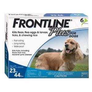 frontline plus for dogs 23 44 lbs frontline 174 plus for dogs 23 44 lbs h brand livestock pet garden supply llc