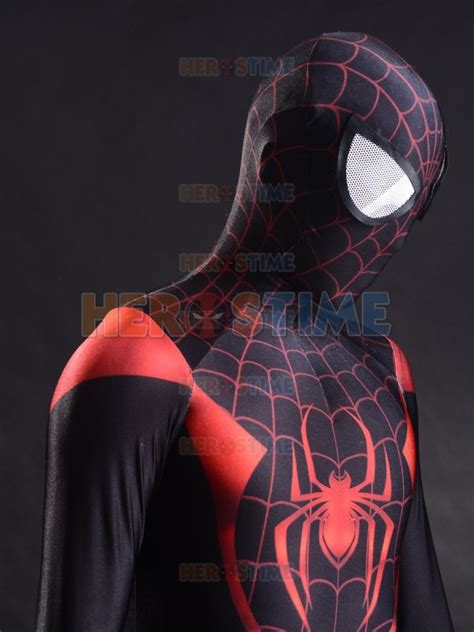 Pdf Spider Morales Costume For Sale by 2015 3d Printing Ultimate Morales Spider Costume