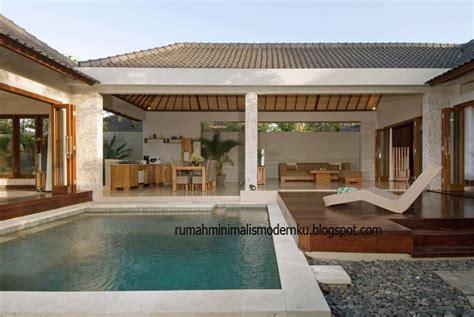 design villa minimalis bali foto villa di bali desain rumah minimalis