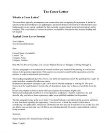 Cover Letter For Company Introduction sle cover letter introduction 8 exles in pdf