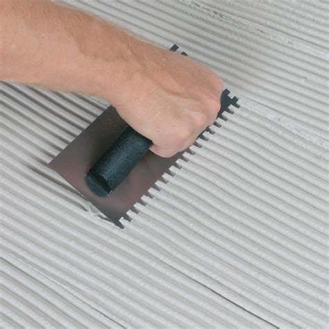 What Type Of Trowel For Floor Tile by Tile Installation Kit Qep