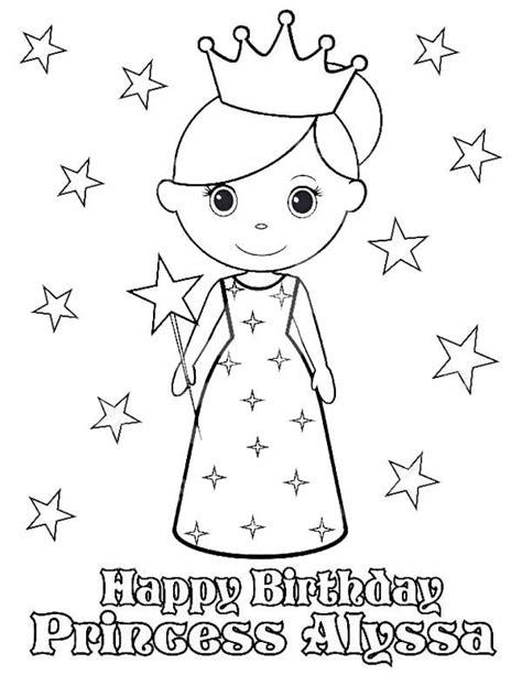 princesses birthday happy birthday princess alyssa