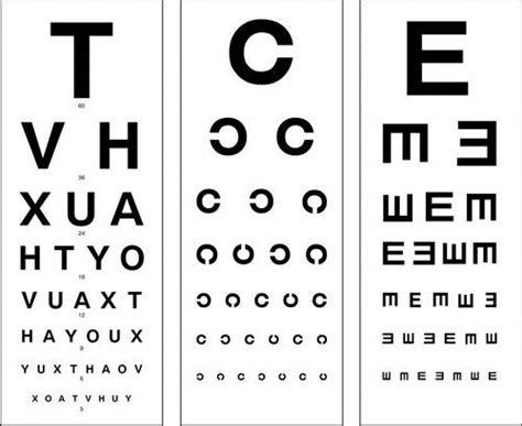 printable landolt c eye chart problema en la vista realiza un examen online