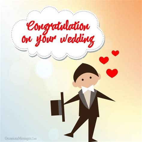 Wedding Congratulations And Groom by Wedding Messages For Groom Occasions Messages