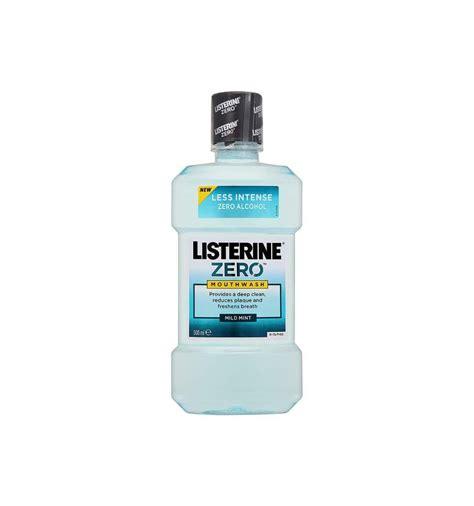 Listerine Zero 250ml Mouthwash listerine zero mouthwash 250ml from supermart ae