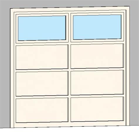 8x8 Garage Door Revitcity Object 8x8 Garage Door With 8 Panels