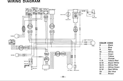 89 yamaha warrior wiring diagram 89 harley sportster