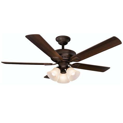 best indoor ceiling fans hton bay cbell 52 in led indoor mediterranean