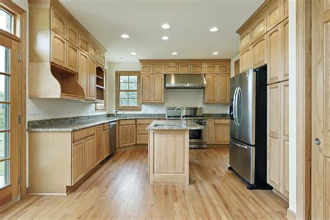 wood kitchen cabinets with wood floors 53 charming kitchens with light wood floors