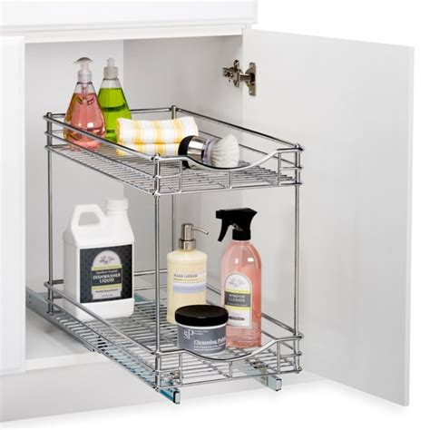 Kitchen Cabinet Organizers Bed Bath And Beyond Roll Out Cabinet Drawers Storage Ideas