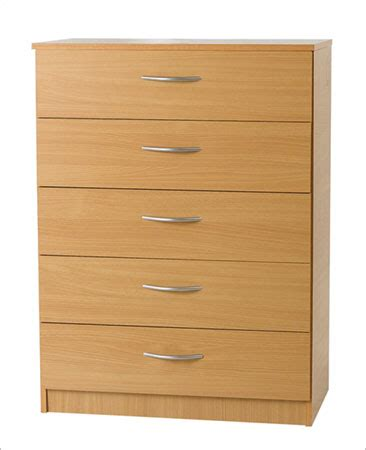 Pre Built Chest Of Drawers by Midi Beech Chest With Five Drawers