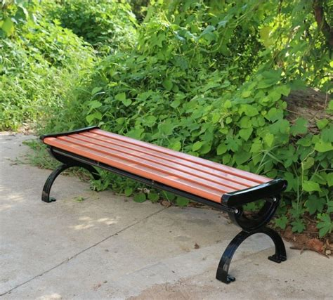 cost of park benches shanghai factory low cost selling outdoor park indonesian
